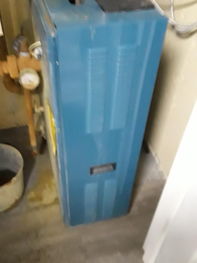 Auburn, MA - Repair on a Burnham gas boiler
