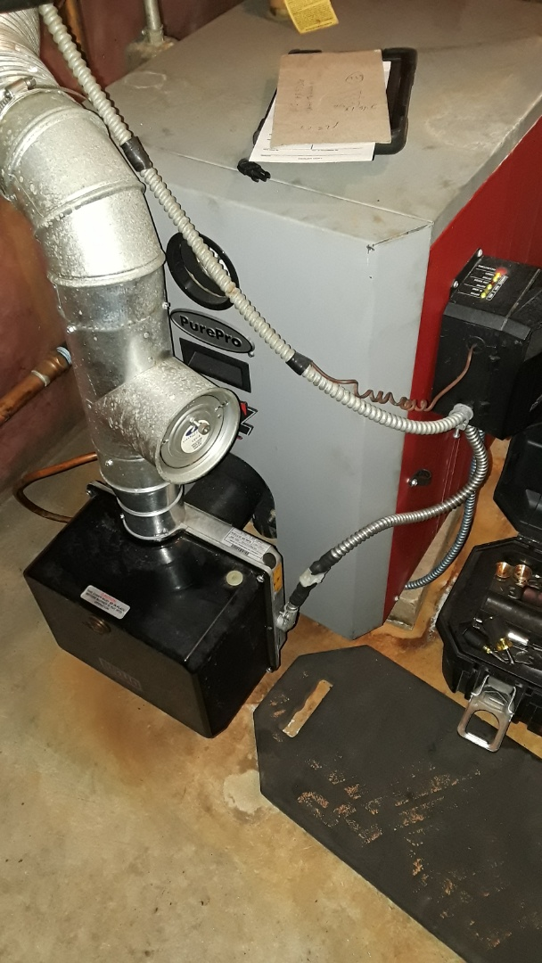 Fitchburg, MA - Clean and check PurePro oil boiler