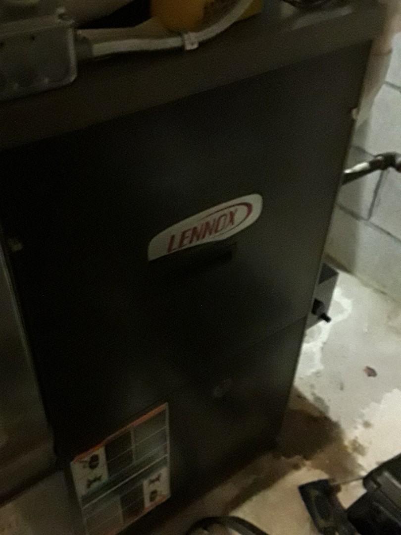 Shrewsbury, MA - Clean and Check Lennox Gas Furnace