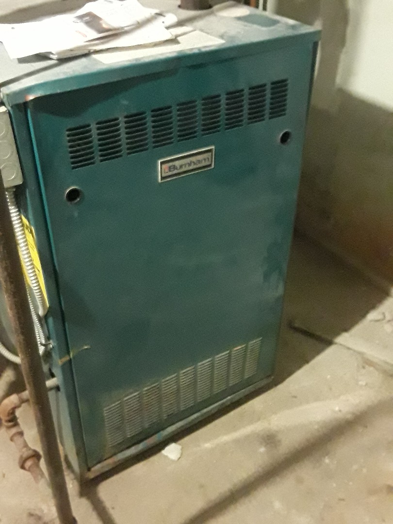 Worcester, MA - Repair on a Burnham gas furnace
