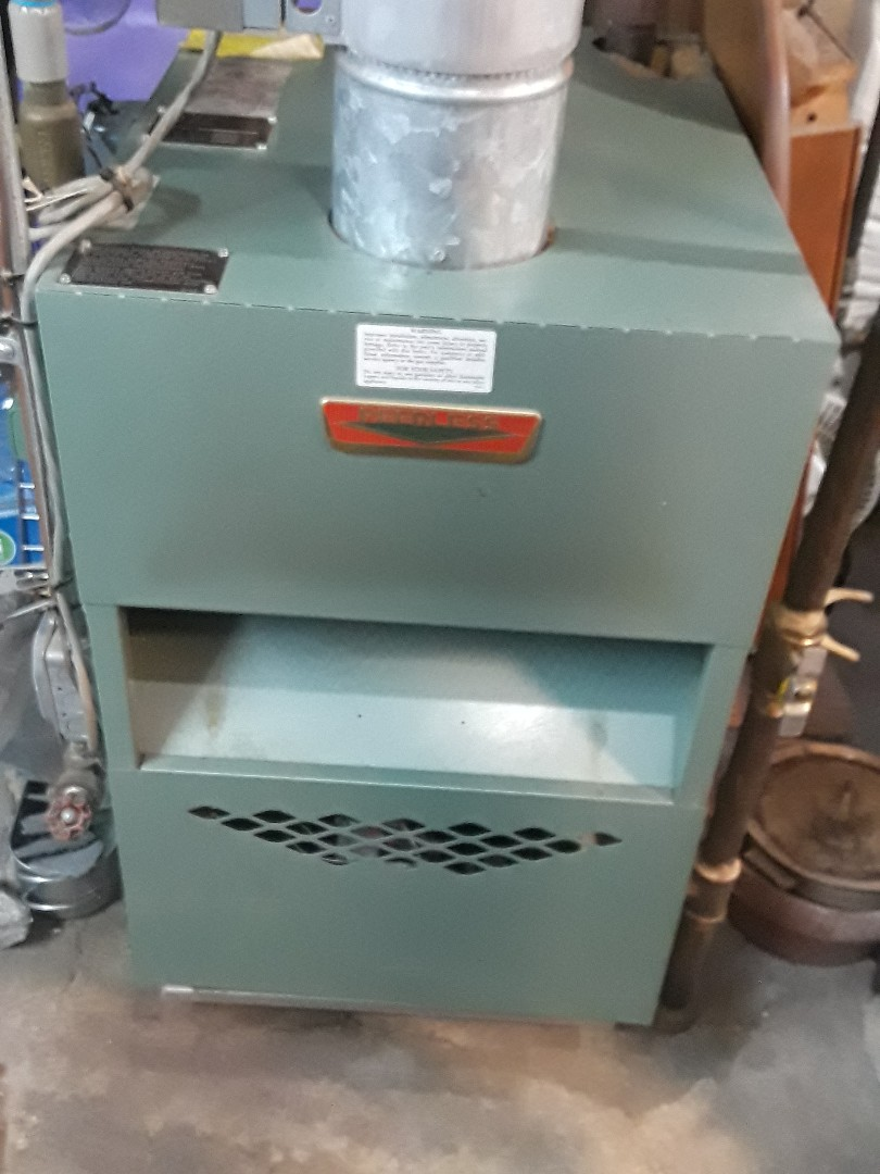 Leominster, MA - Clean and check Peerless gas boiler