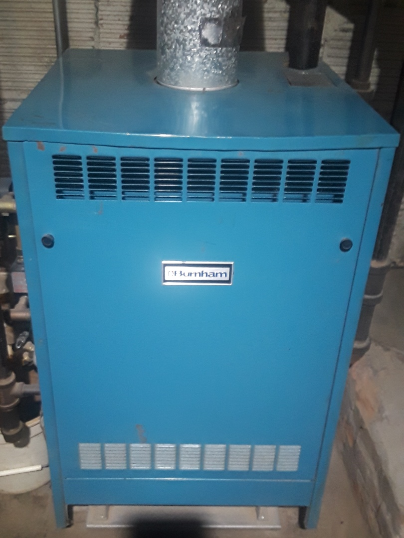Clinton, MA - Repair on a Burnham steam gas boiler
