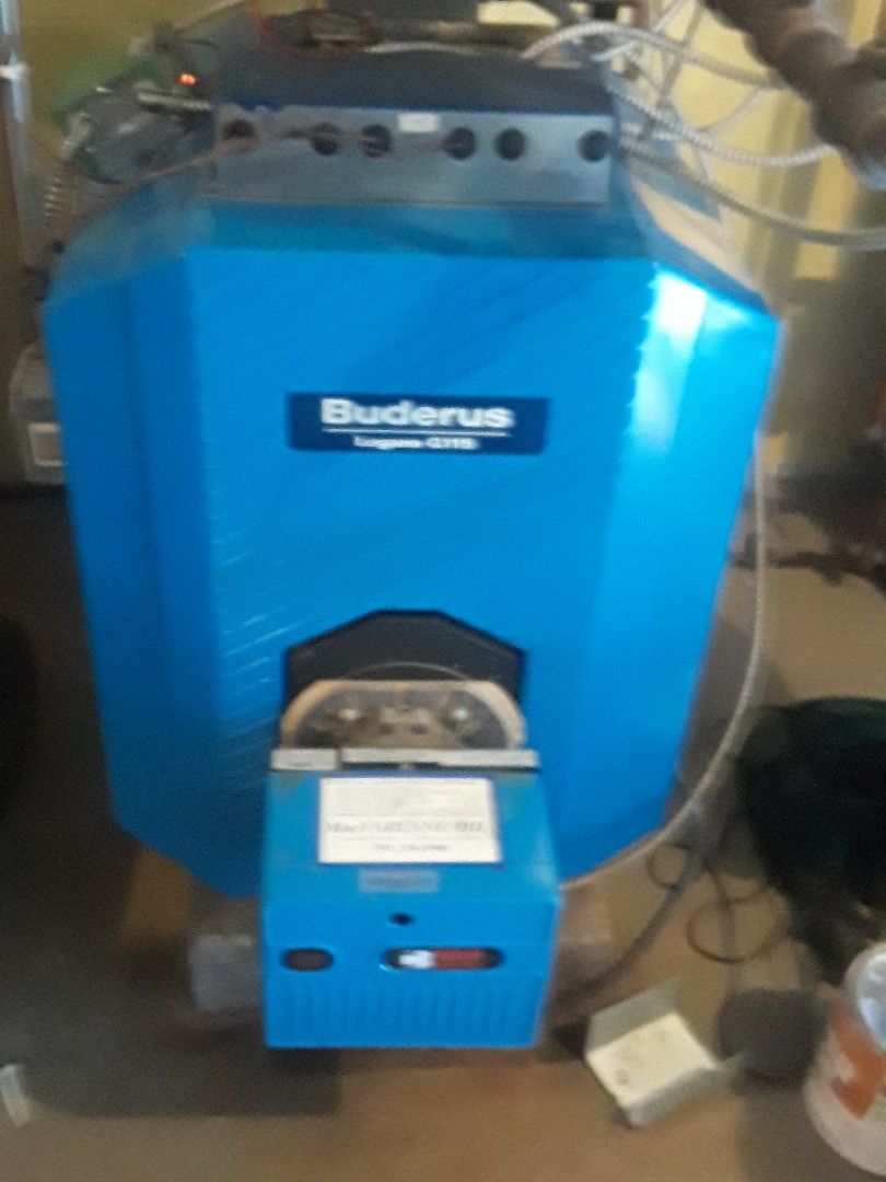 Sudbury, MA - Clean and check Buderus oil boiler