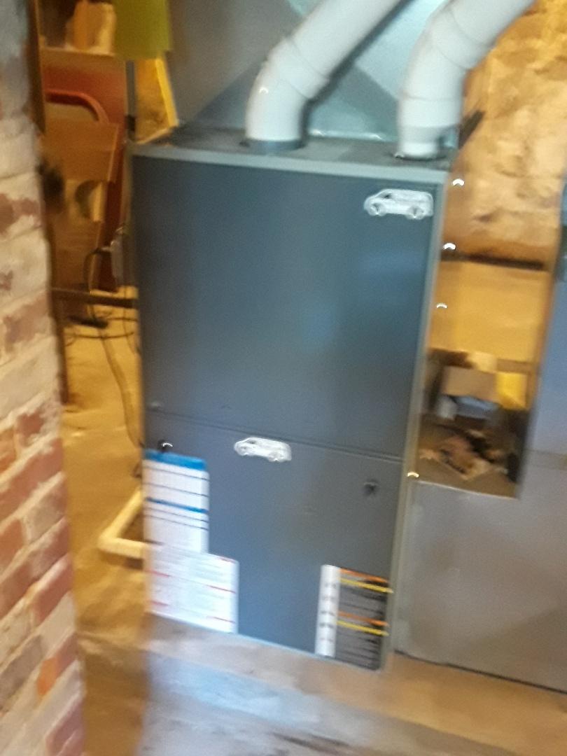 Hopkinton, MA - Repair on a American Standard gas furnace