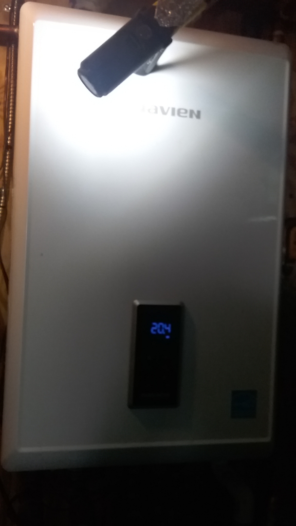 Holden, MA - Service on a navien gas boiler