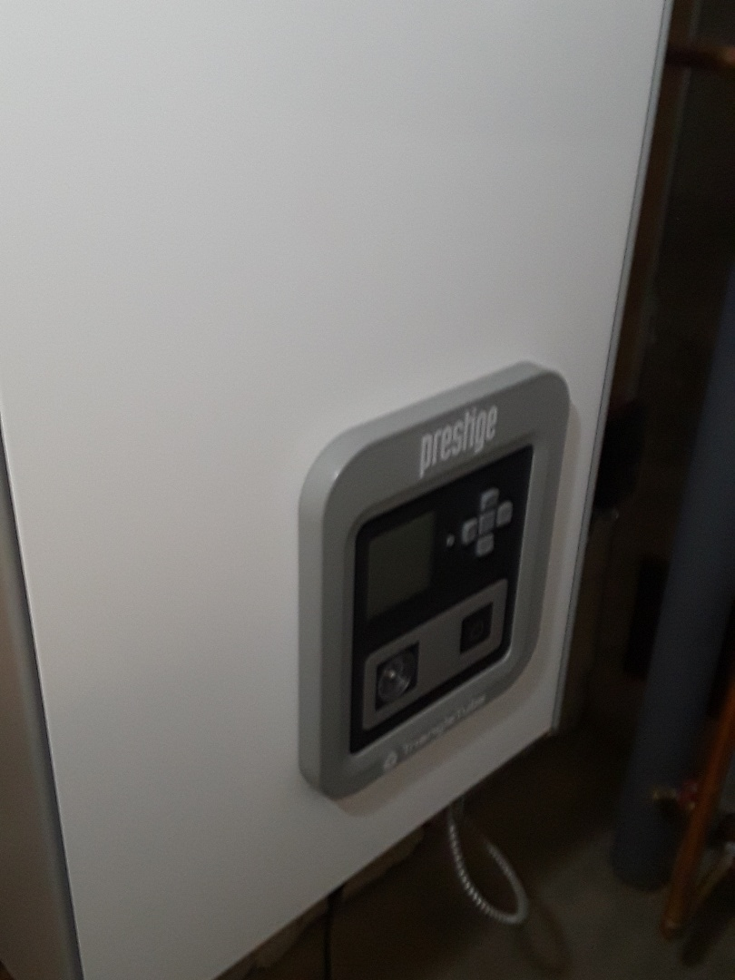Milford, MA - Clean and check Triangle Tube gas boiler