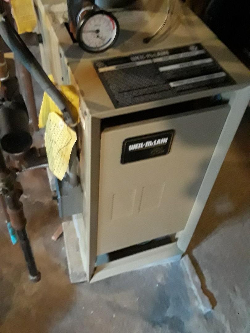 Hopkinton, MA - Repair on a Weil McLain Gas boiler