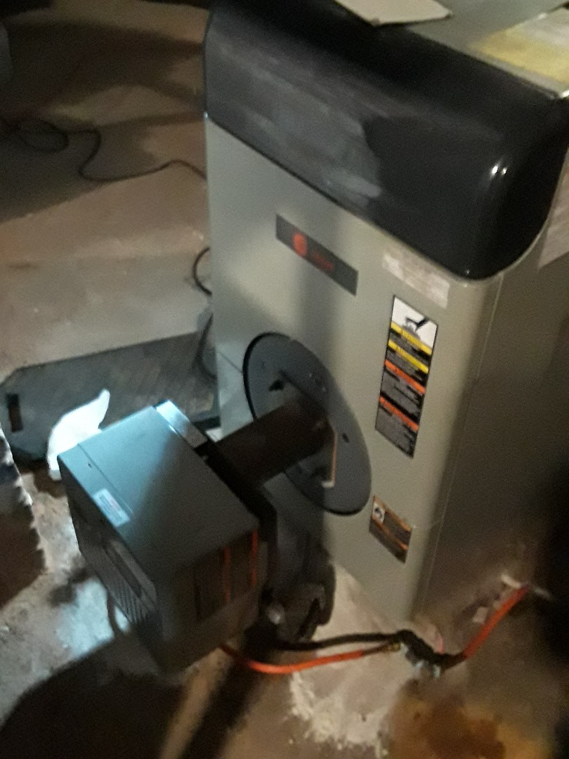 Fitchburg, MA - Clean and check Bryant oil boiler