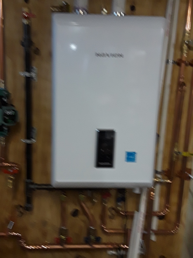 Auburn, MA - Navien LP gas boiler installation