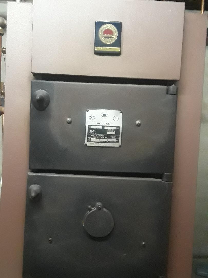 Fitchburg, MA - Repair on an american standard oil boiler