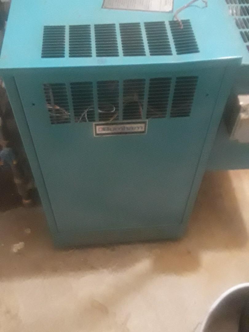 Milford, MA - Repair on a Burnham gas boiler