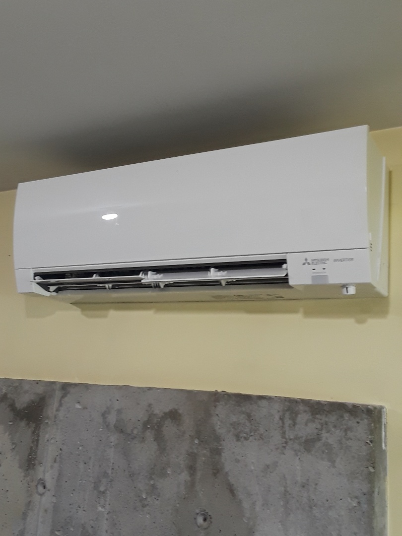 Charlton, MA - Mitsubishi mini split unit installation
