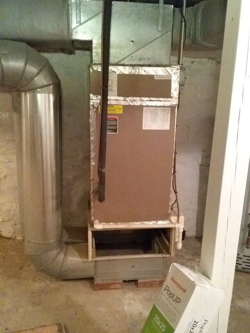 Westborough, MA - Performed preventive maintenance procedures on air handle unit and condenser.