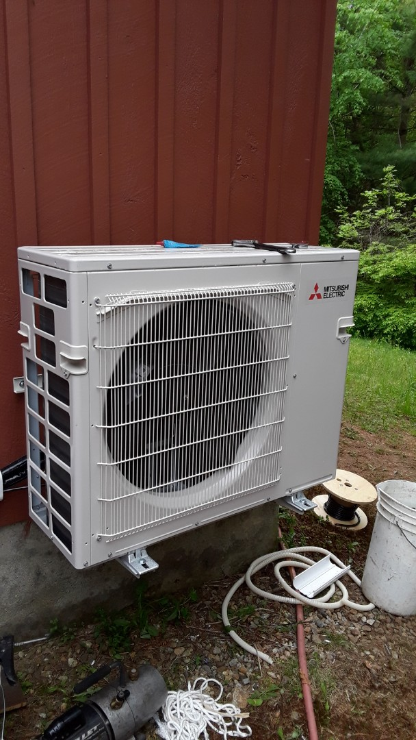 Holden, MA - Mitsubishi mini split system installation