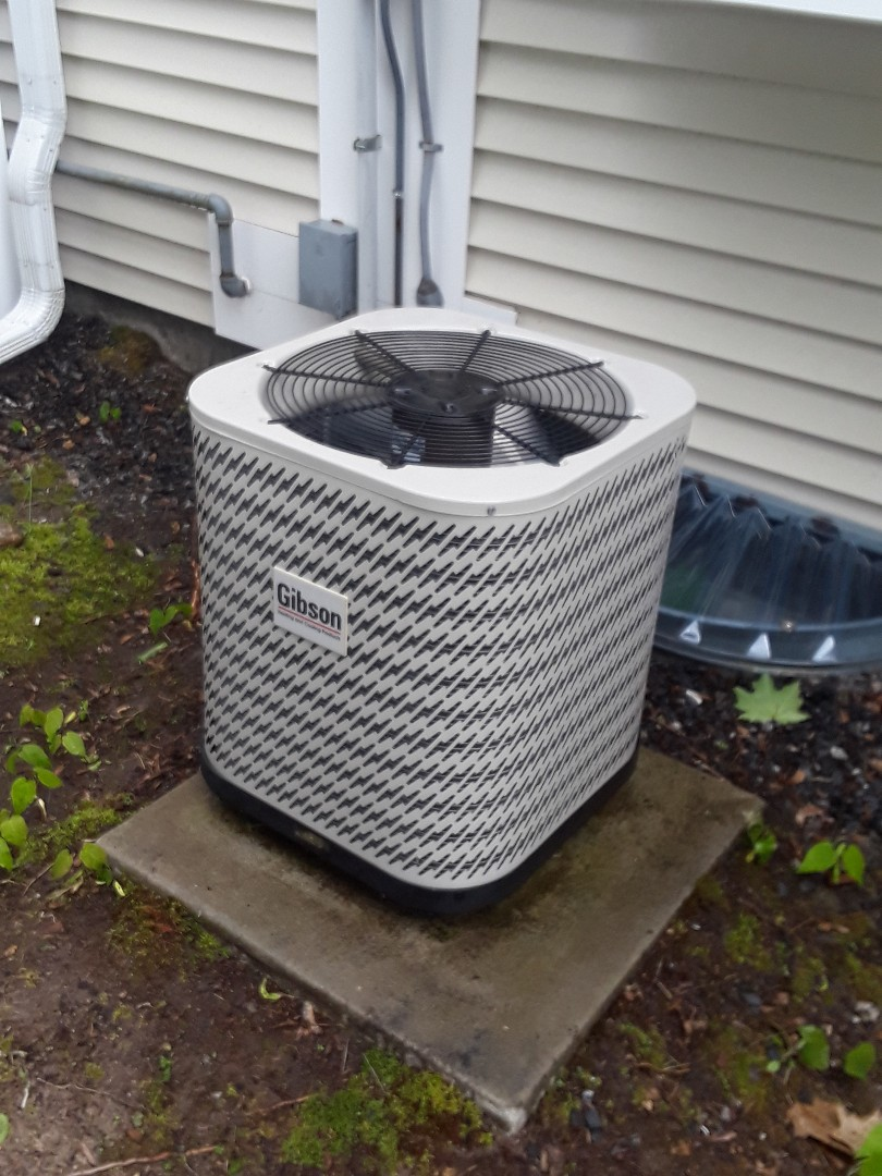 Leominster, MA - Clean and check Gibson AC unit