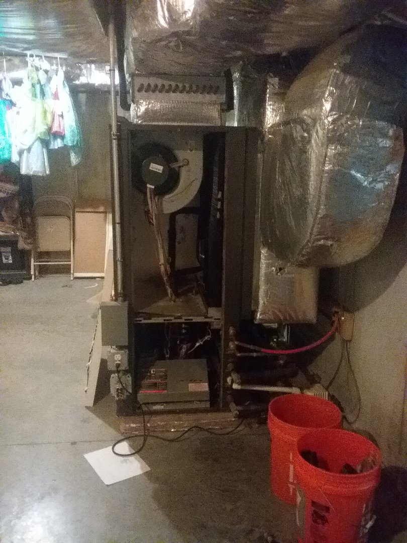 Lunenburg, MA - Performed preventive maintenance procedures on geothermal heat pump