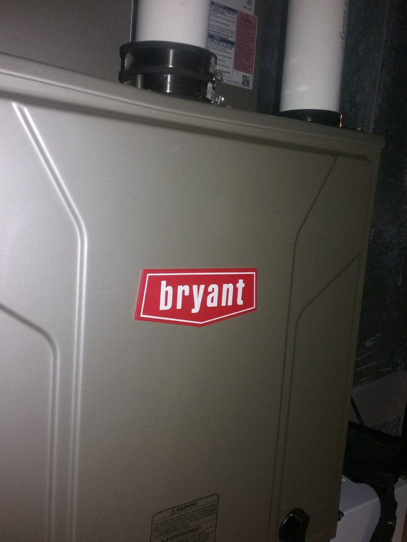 Leominster, MA - Service on a bryant gas air furnace