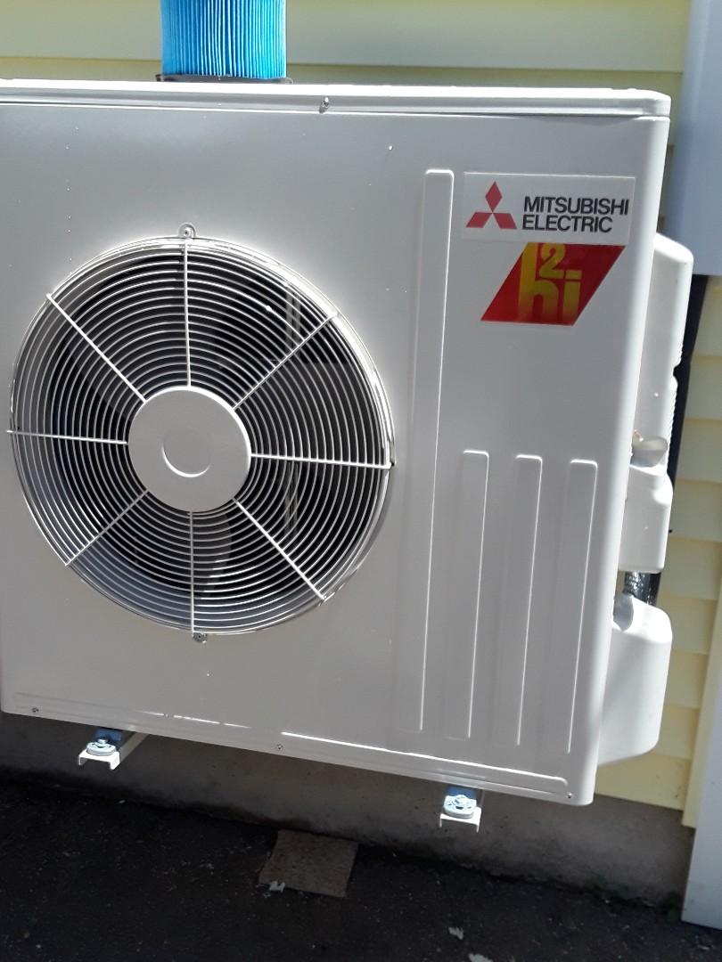 Leicester, MA - Mitsibishi mini split system installation