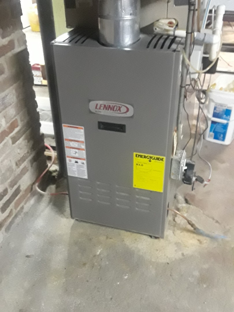 Northborough, MA - Clean and check Lennox oil heating unit