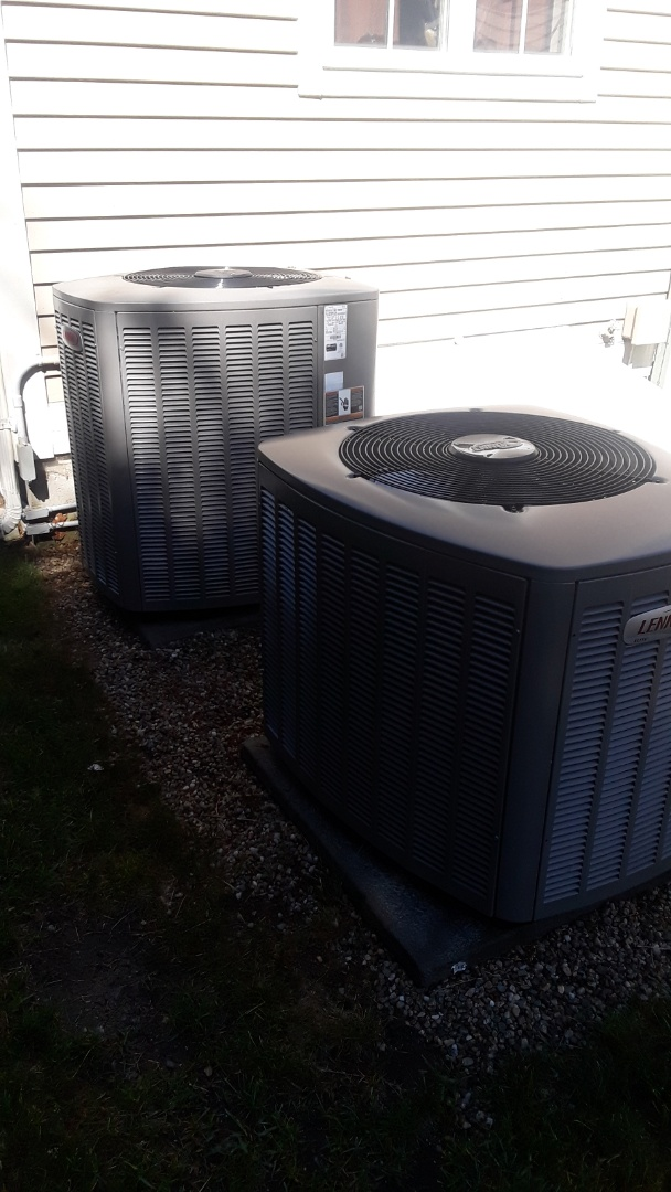 Westborough, MA - Clean and check Lennox AC units
