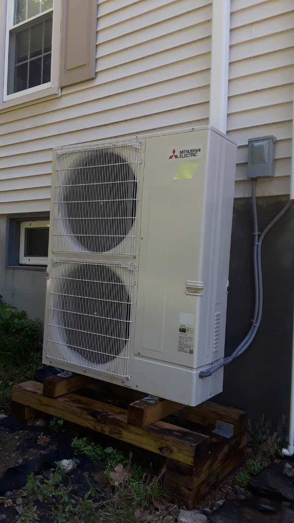 Westborough, MA - Clean and check Mitsubishi mini split system