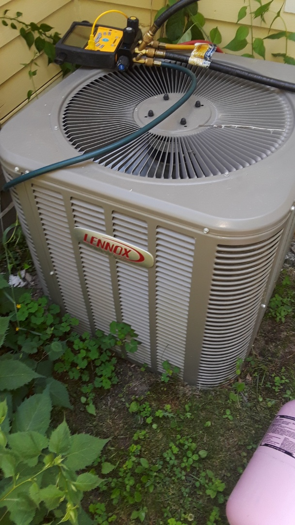 Westminster, MA - Repair on a Lennox AC unit