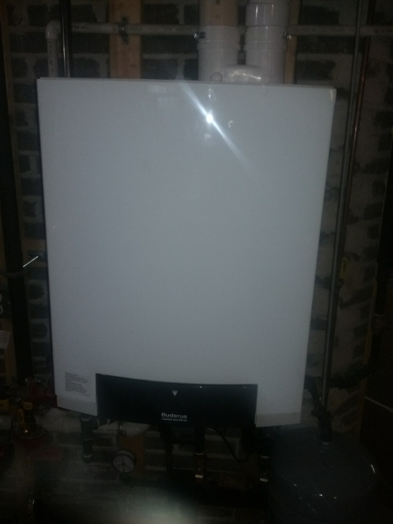 Worcester, MA - Service on a buderus gas water boiler