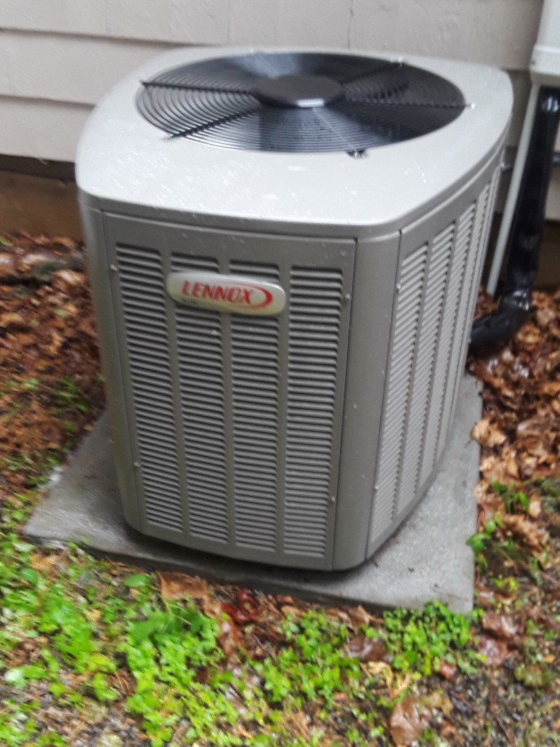 Worcester, MA - Clean and check Lennox AC unit