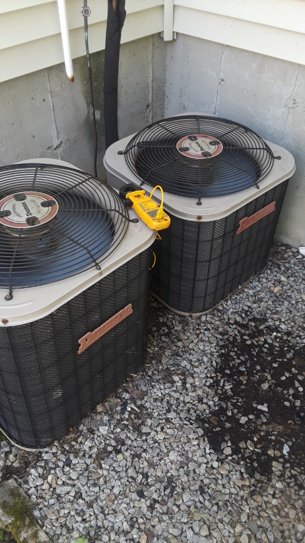 Auburn, MA - Repair on a Ducane AC units