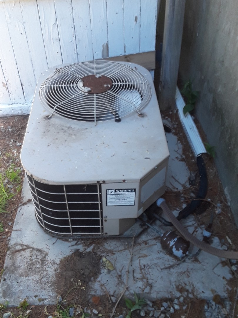 Worcester, MA - Repair on a Coleman AC unit