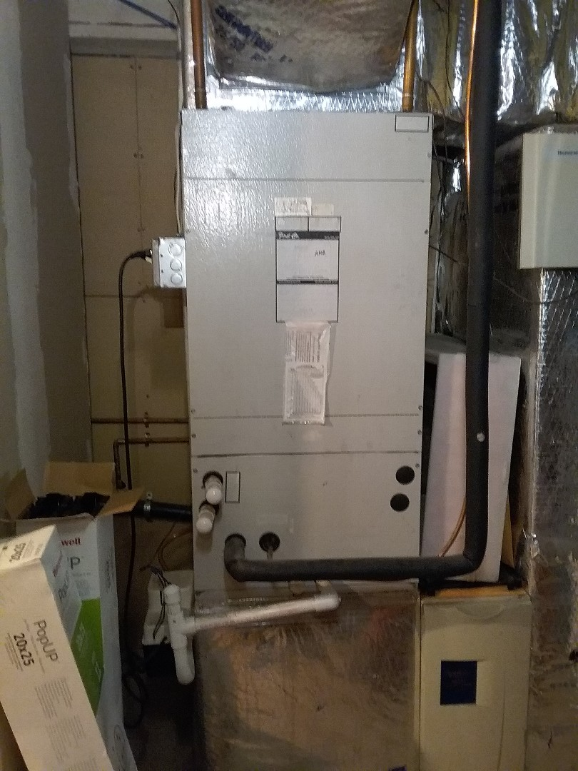 Worcester, MA - Performed preventive maintenance procedures on first co air handler unit and condenser for air conditioning.