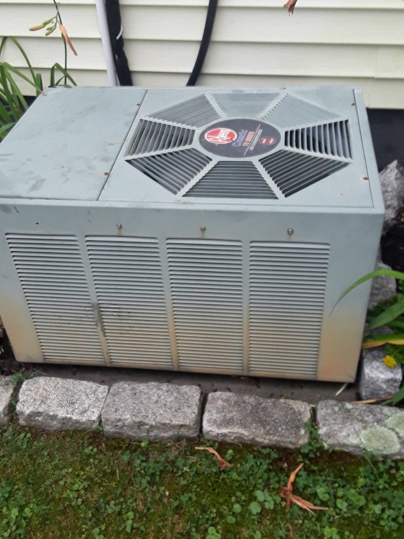 Ayer, MA - Repair on a Rheem AC Unit