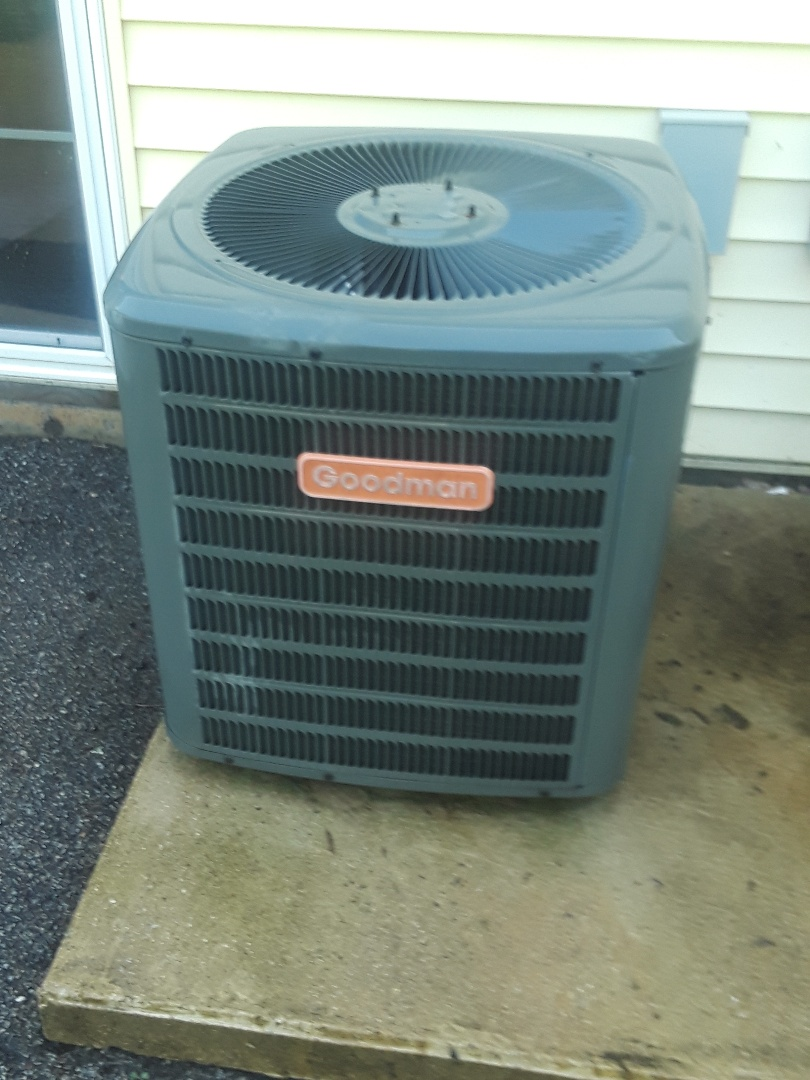 Charlton, MA - Clean and check Goodman AC unit