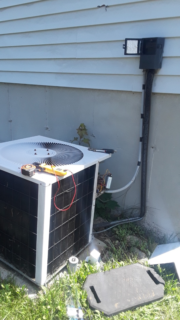 East Brookfield, MA - Repair on a Concord AC unit