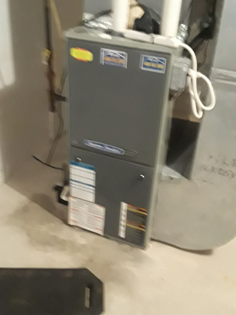 Hopkinton, MA - Clean and check American Standard Gas heating unit