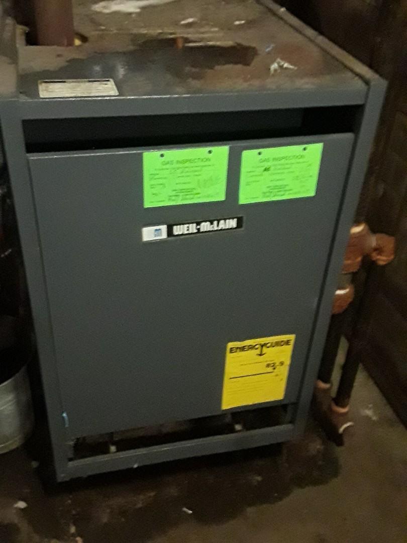Worcester, MA - Repair on a Weil McLain gas boiler