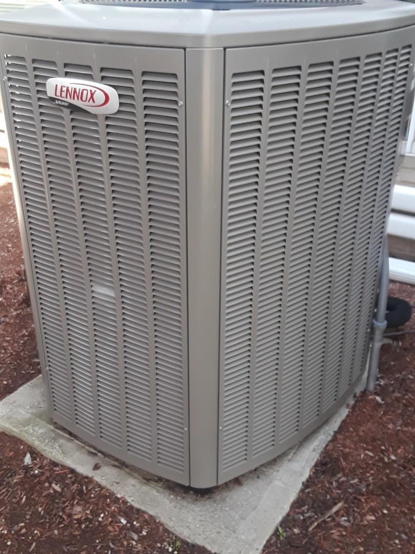 Fitchburg, MA - Repair on a Lennox AC unit
