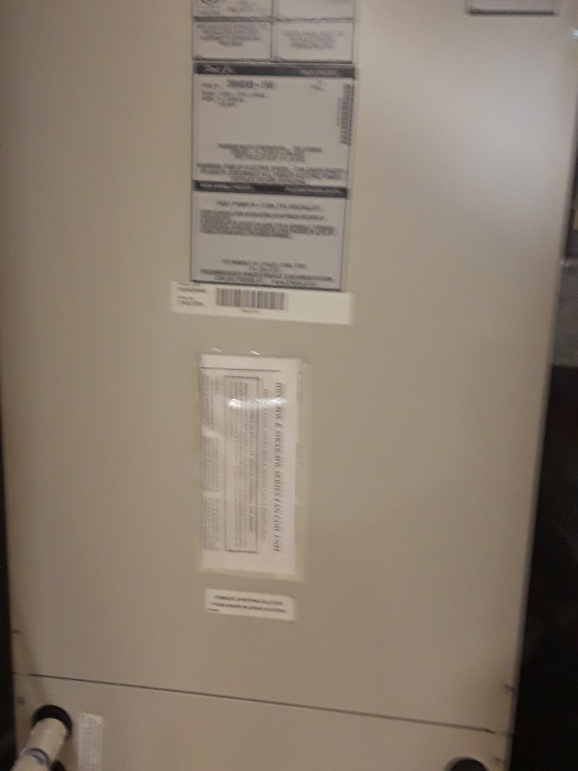 Charlton, MA - Repair on a First Co. Air Handler