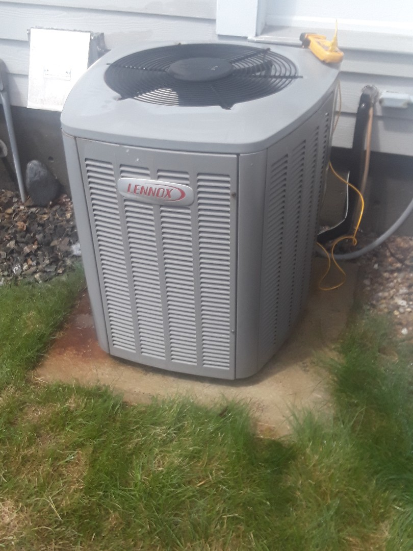 Harvard, MA - Clean and check Lennox AC unit