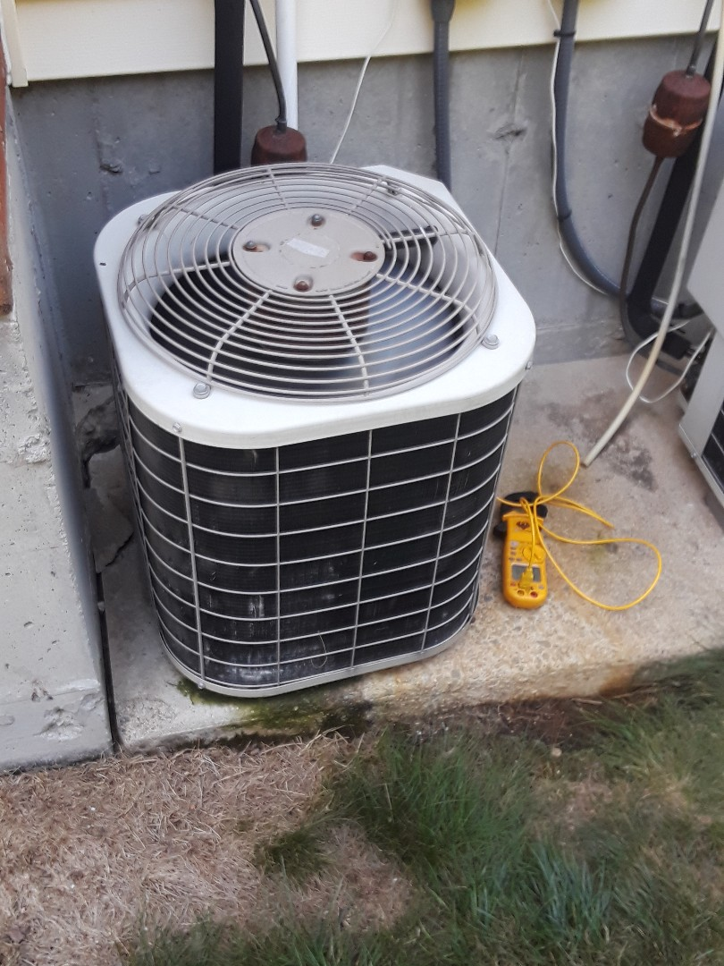 Repair on a Bryant AC unit