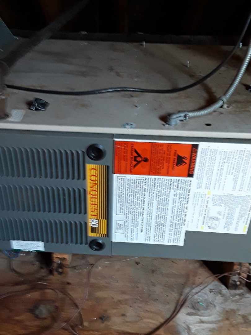 Blower replacement on a Goodman Gas furnace