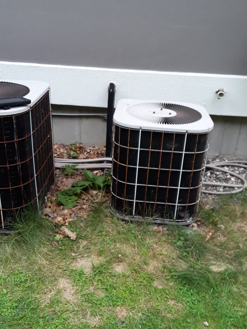 Uxbridge, MA - Repair on a Concord AC unit