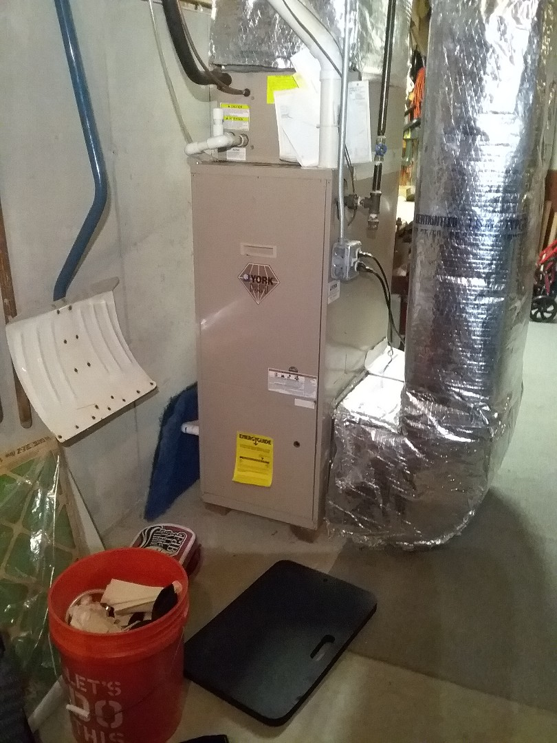 Shrewsbury, MA - Performed preventive maintenance procedures on york furnace and state select water heater