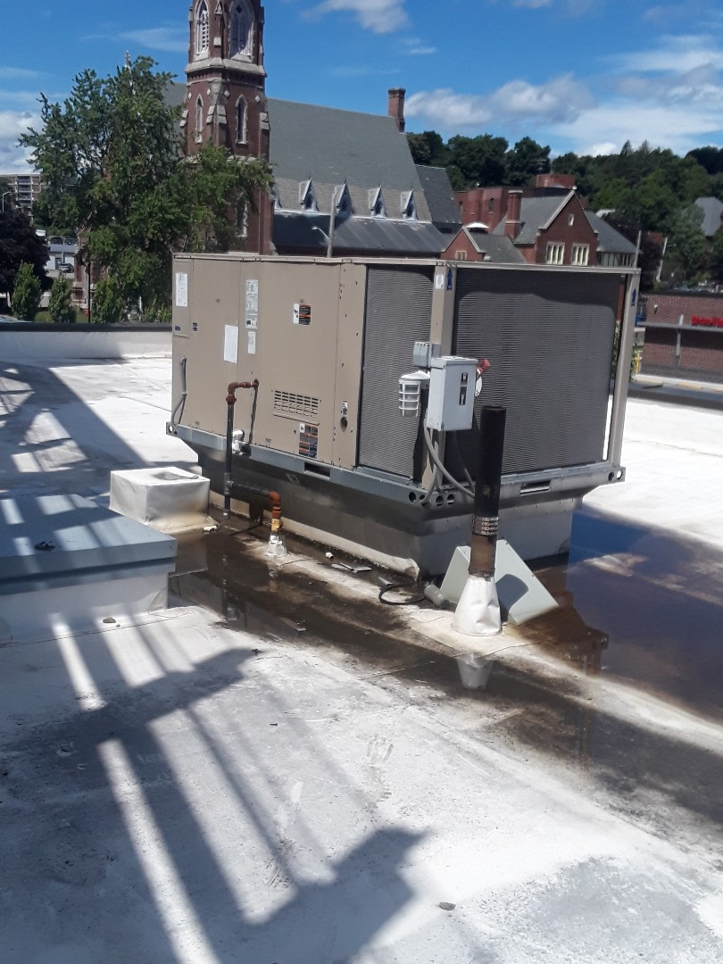 Fitchburg, MA - Clean and check Lennox rooftop unit
