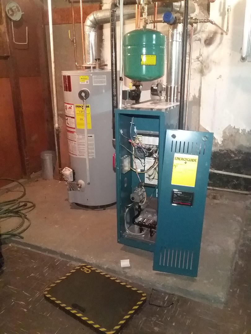 Grafton, MA - Performed preventive maintenance procedures on us boiler co boiler and state select water heater