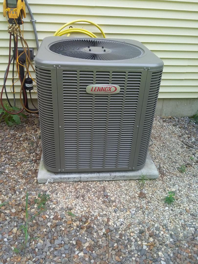 Rutland, MA - Performed preventive maintenance procedures on lennox air conditioning system
