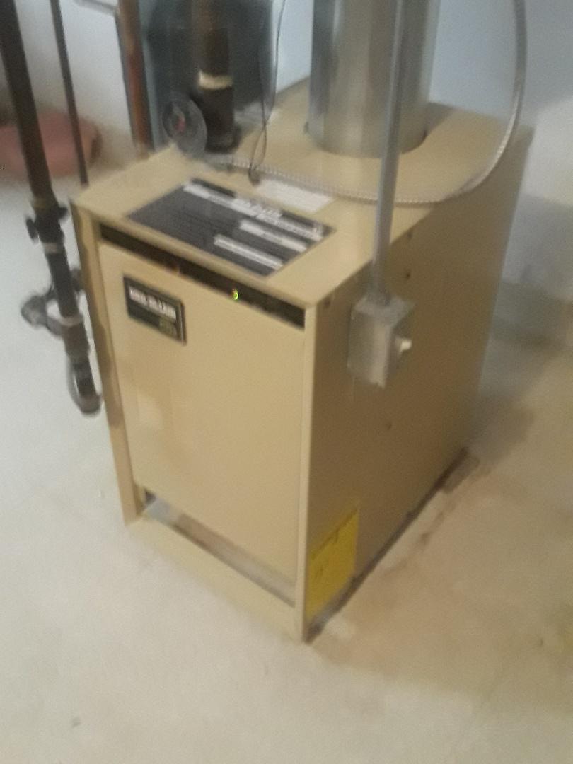Shrewsbury, MA - Clean and check Weil McClain gas heating unit