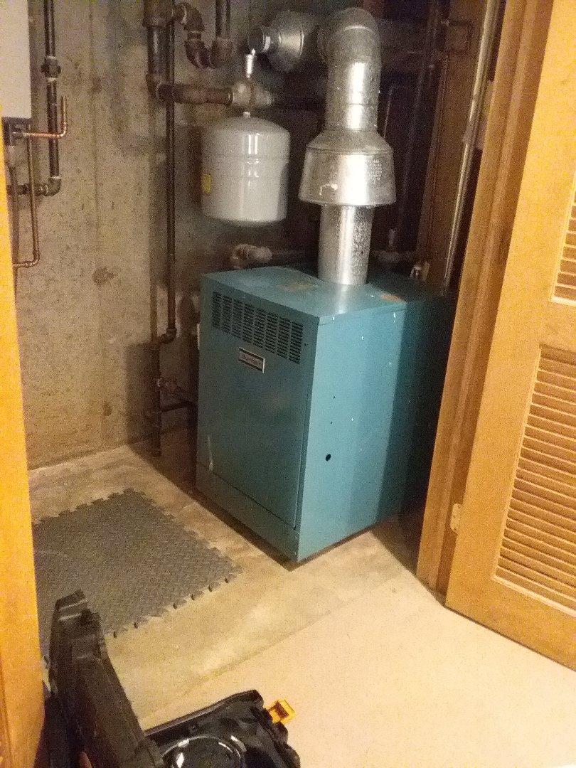 Grafton, MA - Performed preventive maintenance procedures on Burnham gas boiler