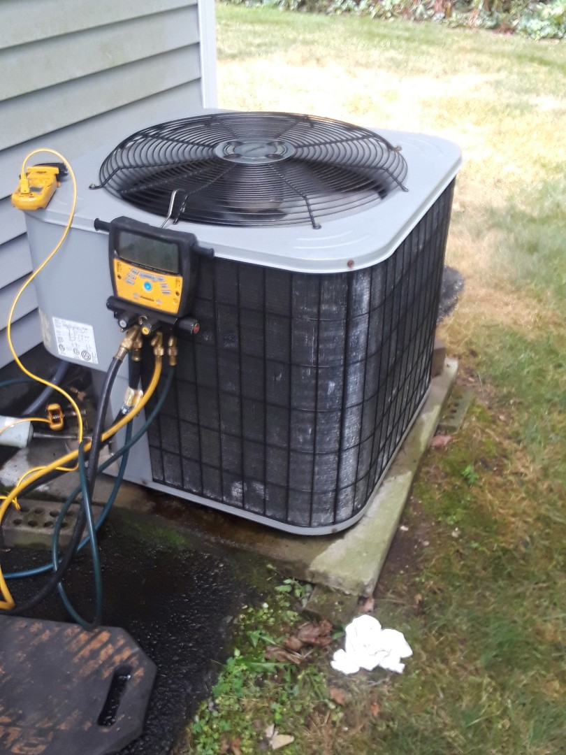 Leominster, MA - Repair on a Aire Flo AC unit