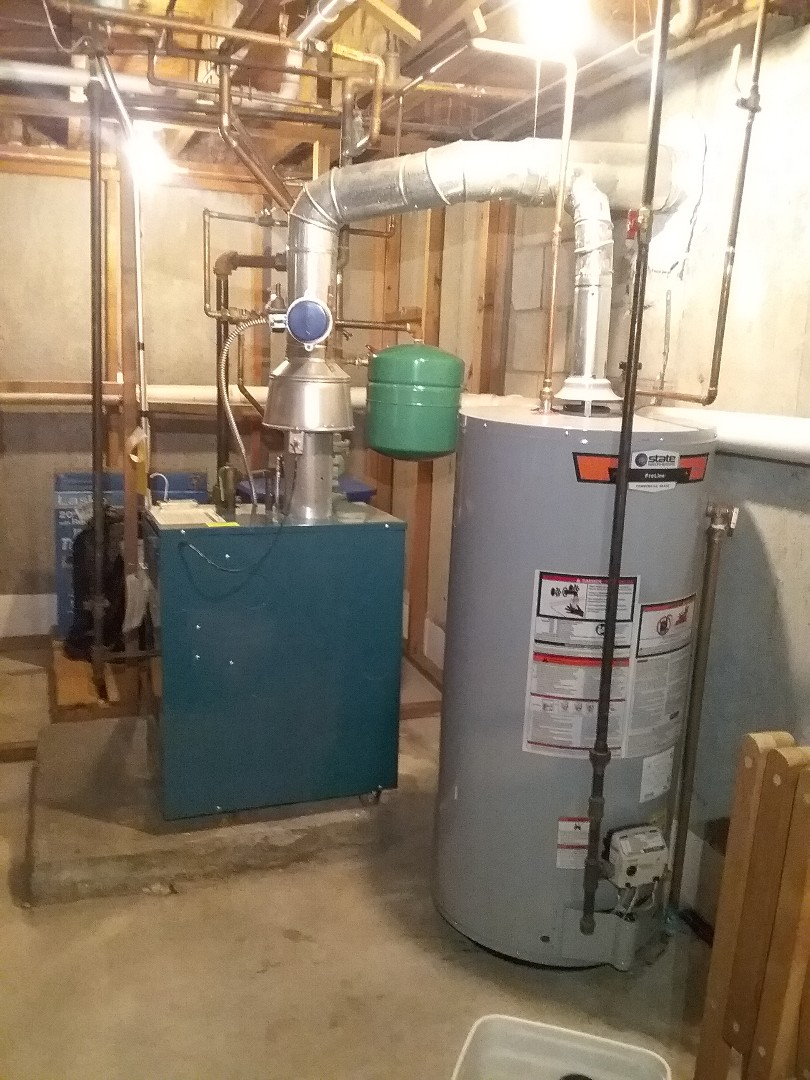 Hudson, MA - Performed preventive maintenance procedures on Burnham gas boiler and state water heater.